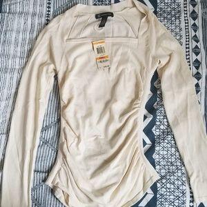 INC NWT Sweater -Small Silk Rayon Nylon Lycra
